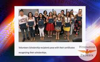 Oak Hill Hospital Volunteer association awards $15k in scholarships to Hernando students graduating in 2019