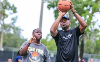 Giving Back to the Community: Micheal Jones Basketball Camp